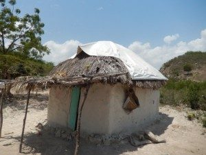 Typical home in Haiti