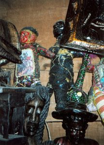 Voodoo paraphernalia in the Marche en Fer, Port-au-Prince, Haiti